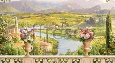 Фотообои и фрески Affresco 6530