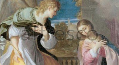 Affresco Ludovico Carracci, Annunciation