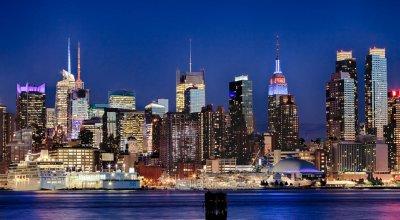 Ночь в Нью-Йорке