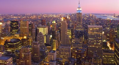 Нью-Йорк в сумерках