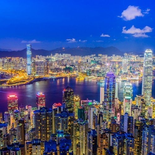 Панорама Гонконга 3